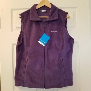 Women's Columbia Benton Springs Fleece Vest - NWT